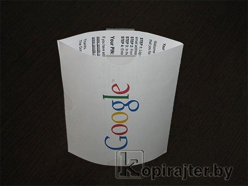 открытка от Google